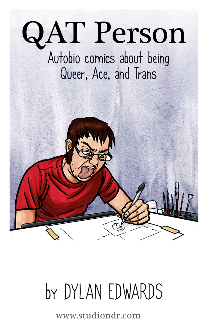 QAT Person Autobio comics about being queer asexual and transgender