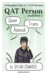 QAT Person number 2 queer asexual transgender comics