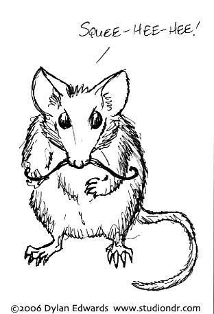 mustache mouse