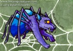 Welcome to Night Vale fan art: spider wolf