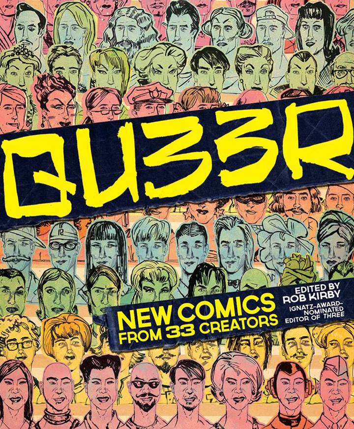 Qu33r Ignatz award winning LGBTQ comics anthology