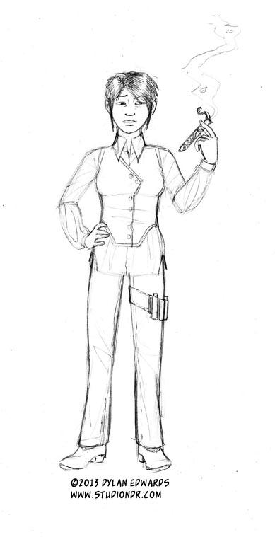 Dylan Edwards Beyond Anthology character design Amihan