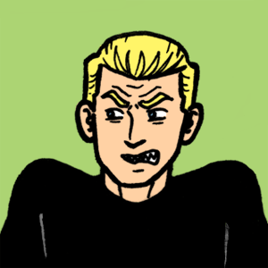 Politically InQueerect Archer grumpy face