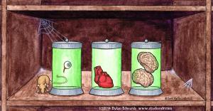 Anti-valentines day card
