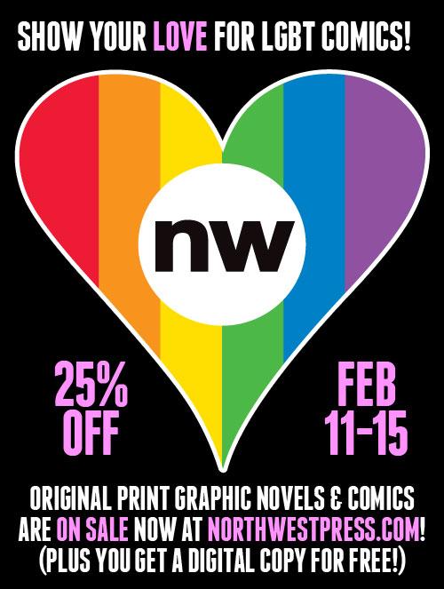 Northwest Press Queer Comics Sale