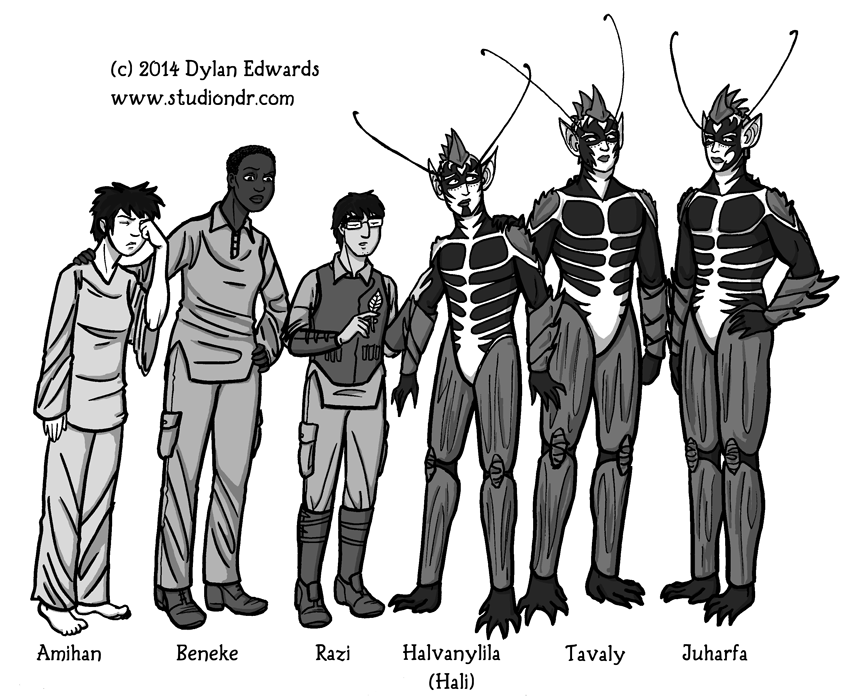 Valley of Spiders character lineup Beyond