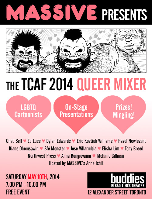 TCAF Queer Mixer 2014