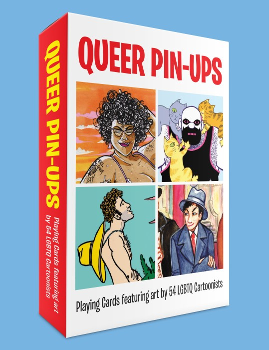 Queer Pin-up Playing Card deck