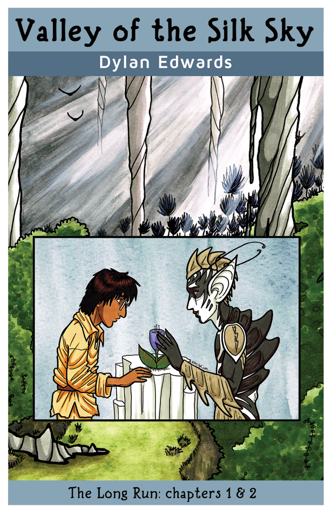 queer science fiction comic valley of the silk sky