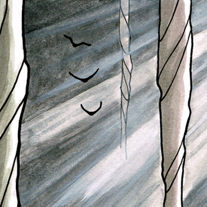 Valley of the Silk Sky queer YA science fiction webcomic