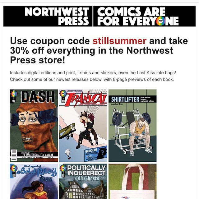 queer comics sale Northwest Press
