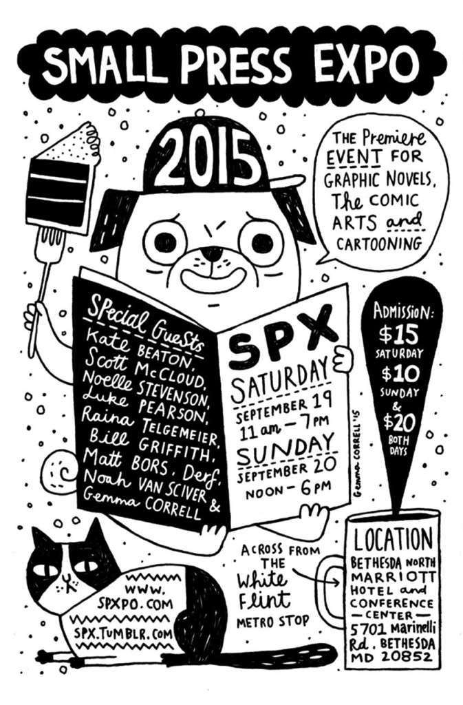Small Press Expo 2015