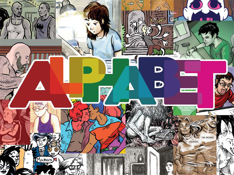 ALPHABET queer comics anthology