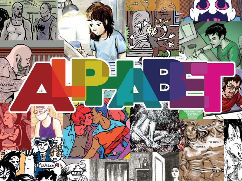 ALPHABET queer comics anthology