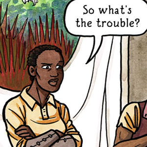 Valley of the Silk Sky queer ya sci-fi comic