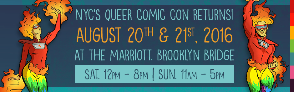 FlameCon 2 queer comics convention