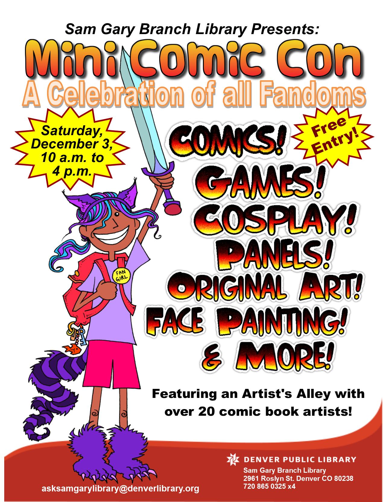 MiniComicCon Flyer