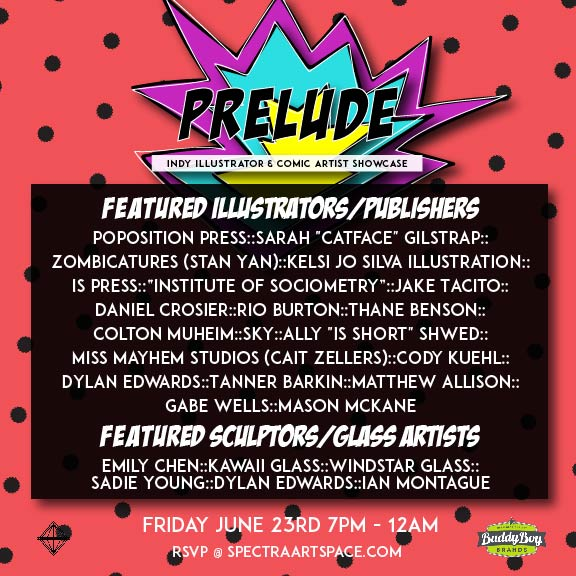 Prelude art show at Spectra Art Space