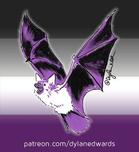 Asexual Awareness Bat Week