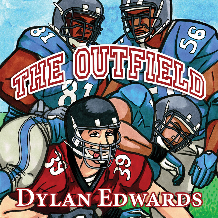 The Outfield LGBTQ queer sports comic by Dylan Edwards