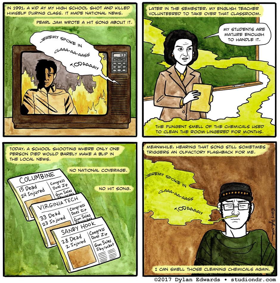 Gun Culture comic