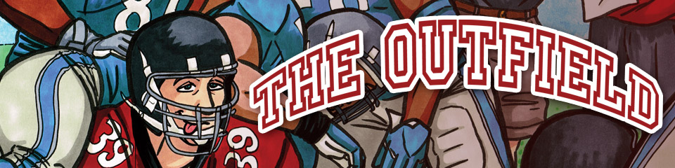 The Outfield LGBTQ sports comics