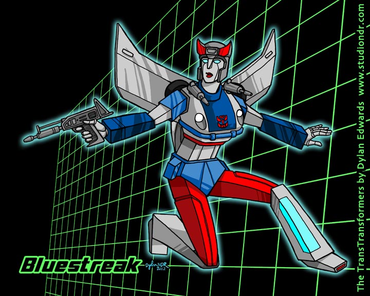 The TransTransformers Bluestreak
