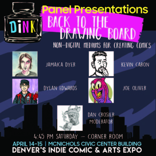 DiNK 2018 panel Back to the Drawing Board