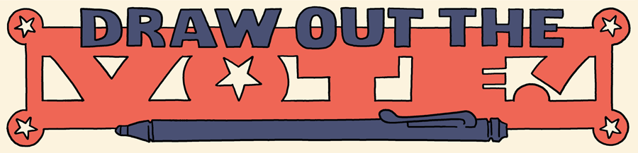 Draw Out the Vote - Oni Press - Voting Comics
