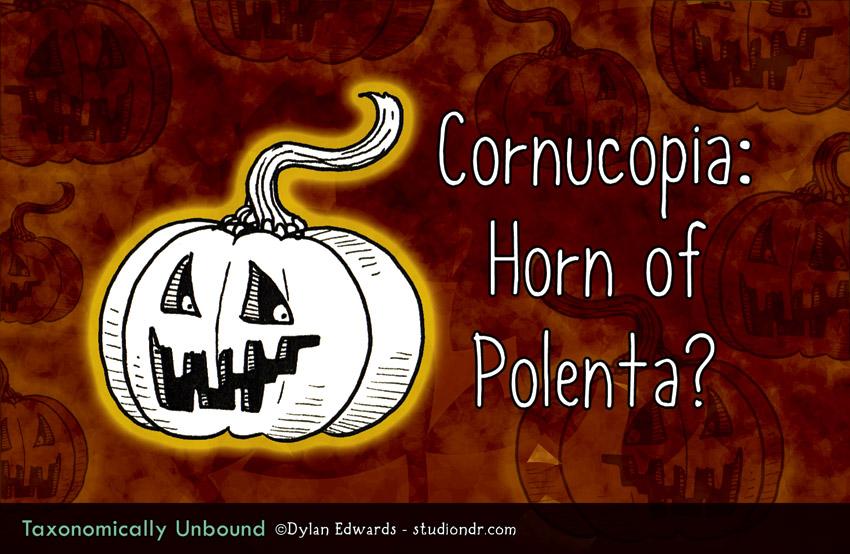 Cornucopia: Horn of Polenta?