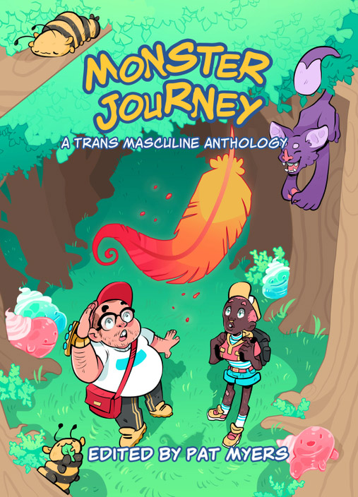 Monster Journey trans masculine comics anthology