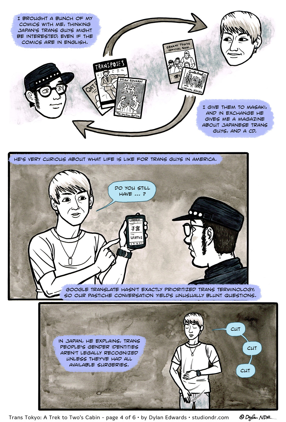 Trans Tokyo: A Trek to Two's Cabin – page 4