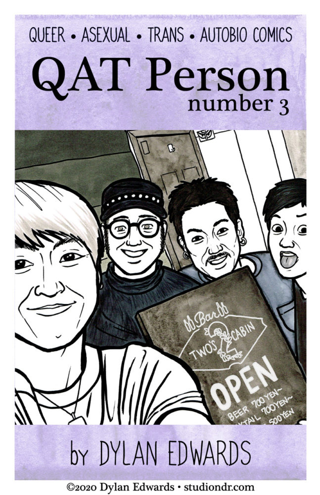 QAT Person number 3 queer asexual transgender autobio comics